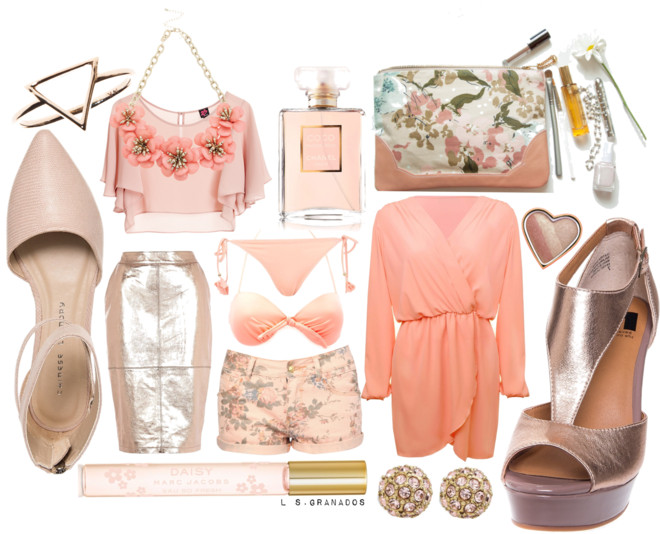 GETAWAY TRENDS 2014 | STYLING ANKLE STRAP SANDALS WITH PASTELS & METALLICS PT. 1