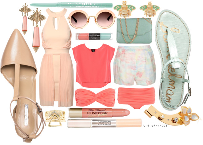 GETAWAY TRENDS 2014 | STYLING THE PASTEL TREND