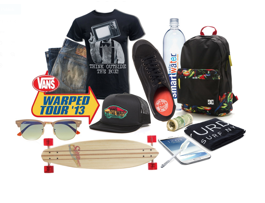 VANS WARPED TOUR TICKETS SWEEPSTAKES!