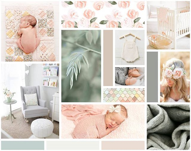 I am just loving this cozy mood board! Perfect for anyone whose business had babies in mind! 😍 #darlingsundaymoodboard