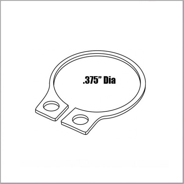 PNBA153 - Retainer Ring for Brake Bleeder Adapter