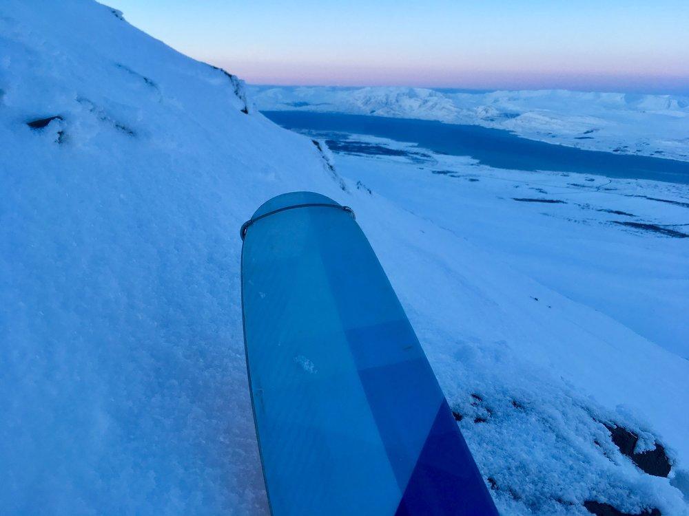 Eyjafjörður í vetrarstillu