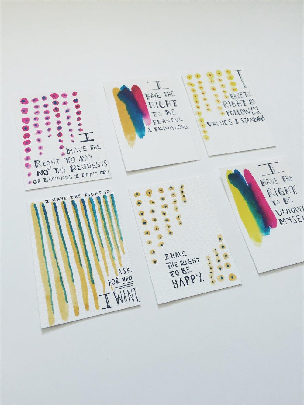 DIY Artist Trading Cards