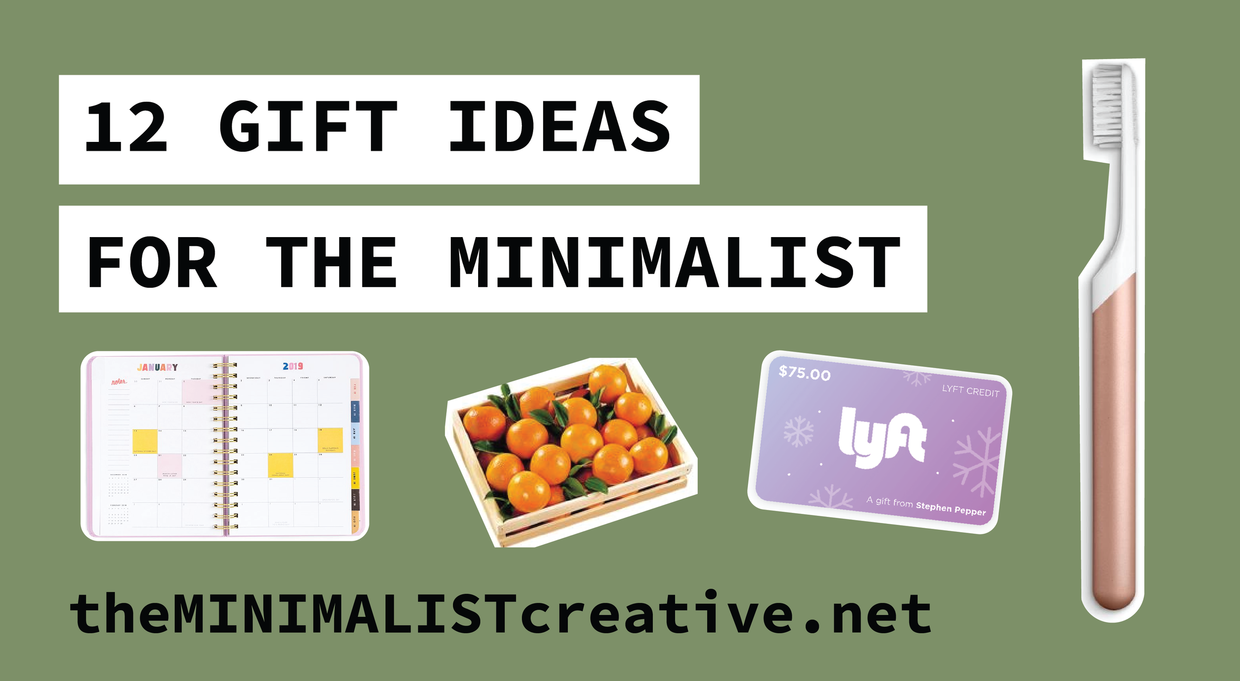 12 Holiday Gift Ideas For The Minimalist
