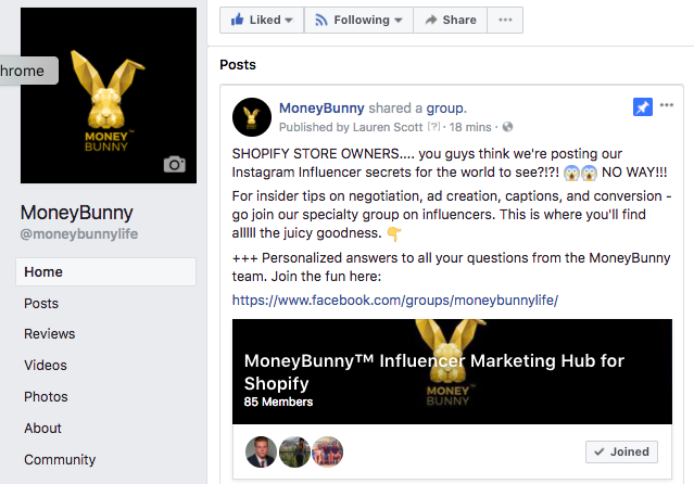 shopify influencer marketing
