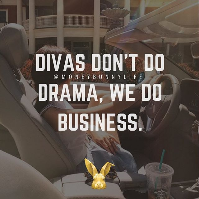 Drama takes up too much time, and time is money. Not gonna deal with it if I'm not getting paid for it 🤗