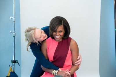 Meryl Streep and Michelle Obama