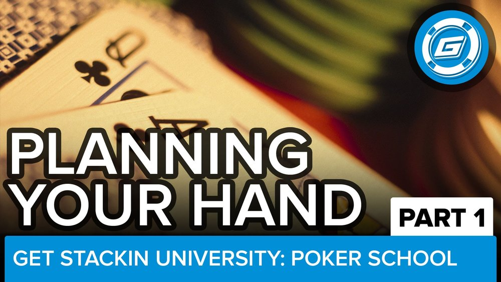Playing Your Poker Hand (Pt 1) - Play Like The Pros - LESSON #12