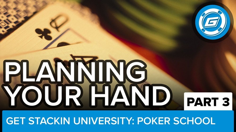 Playing Your Poker Hand (Pt 3) - LESSON #14