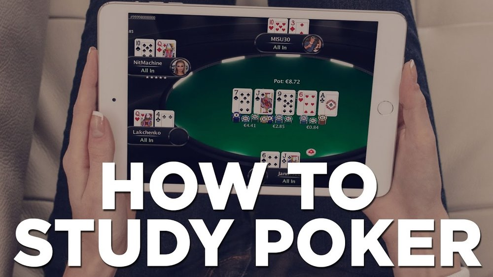 How To Study & Improve In Online Poker - LESSON #1