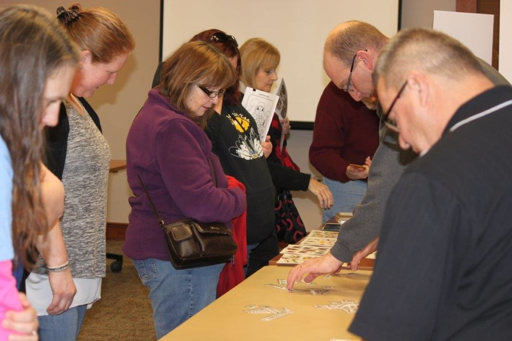 Leave No Trace The Pokagon Band DNR provided a hands-on workshop and presentation about respecting our Mother Earth. This was held in conjunction with the quarterly Gwikwé'amen on March 5.  There were 54 participants. One Story also had an informational booth at this event to promote the program and the creative art project that is running this season.