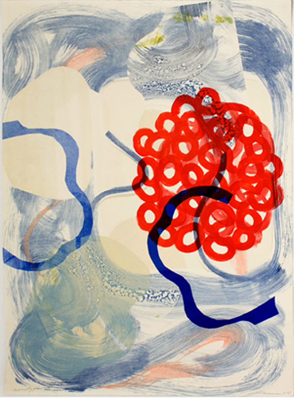 Dale Chisman, Untitled, 2005, monotype, 41 x 30 in