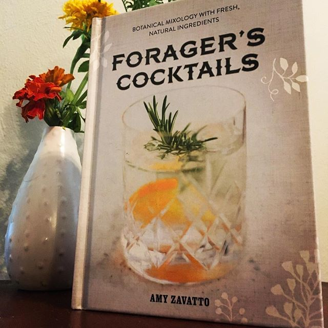 #summerreading new favorite book of cocktails. Wondering what to do with your dandelions and ginkgo nuts? Amy has the delicious boozy answer! #arcanaspirits  #drinklocal