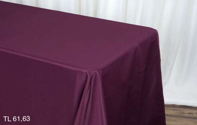Eggplant Rectangle Tablecloths
