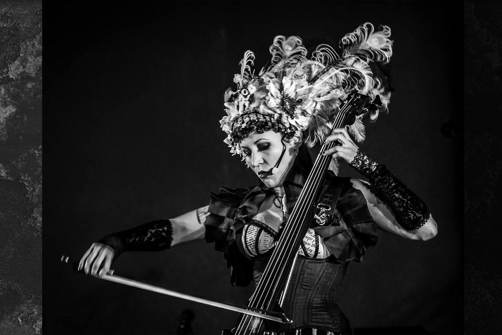 Unwoman - Cello siren extraordinaire!LOCATION: HEART LODGE/DANCE HALL