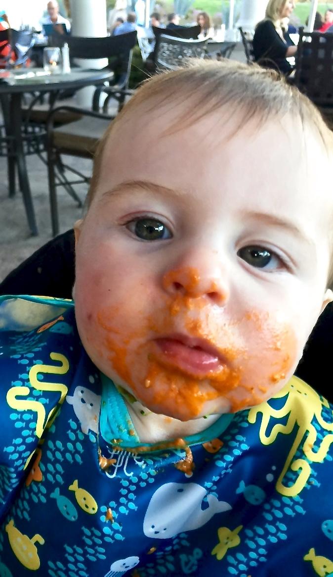 Yummy tomato soup!