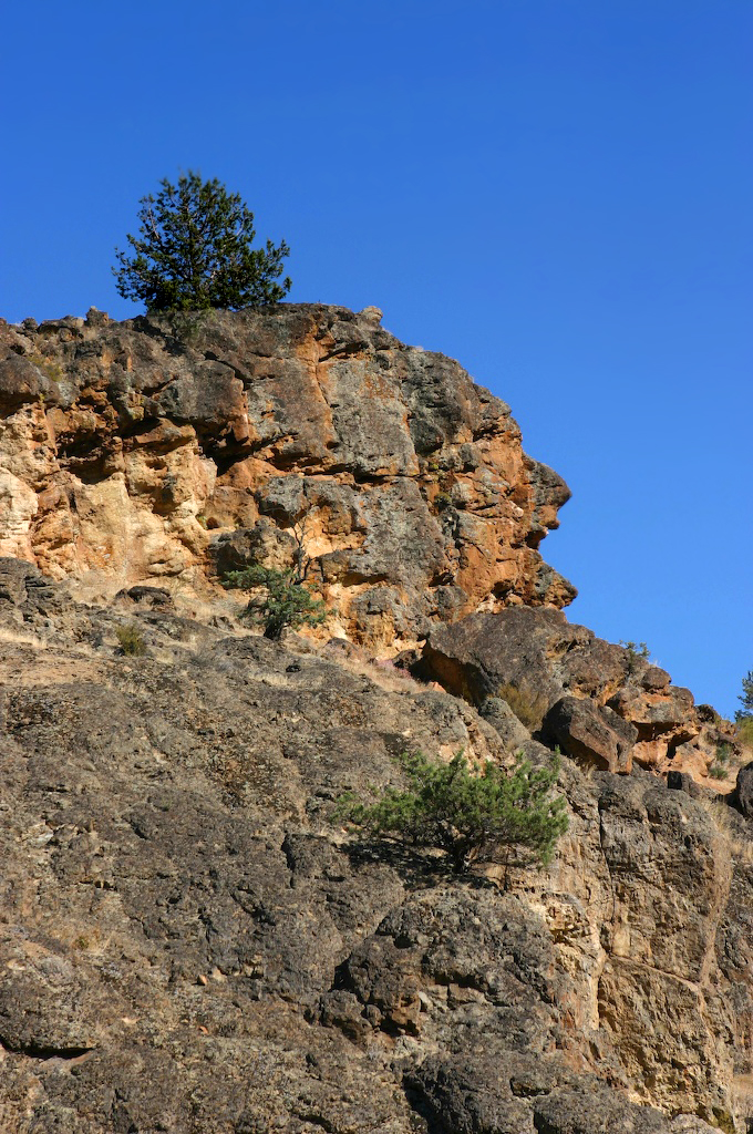 Indian Head Rock, Warm Springs, Oregon