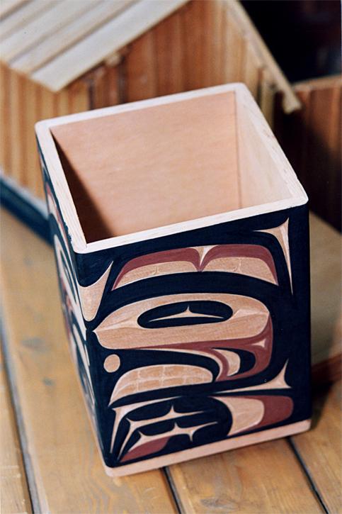 Bentwood box, Andrea Wilbur-Sigo