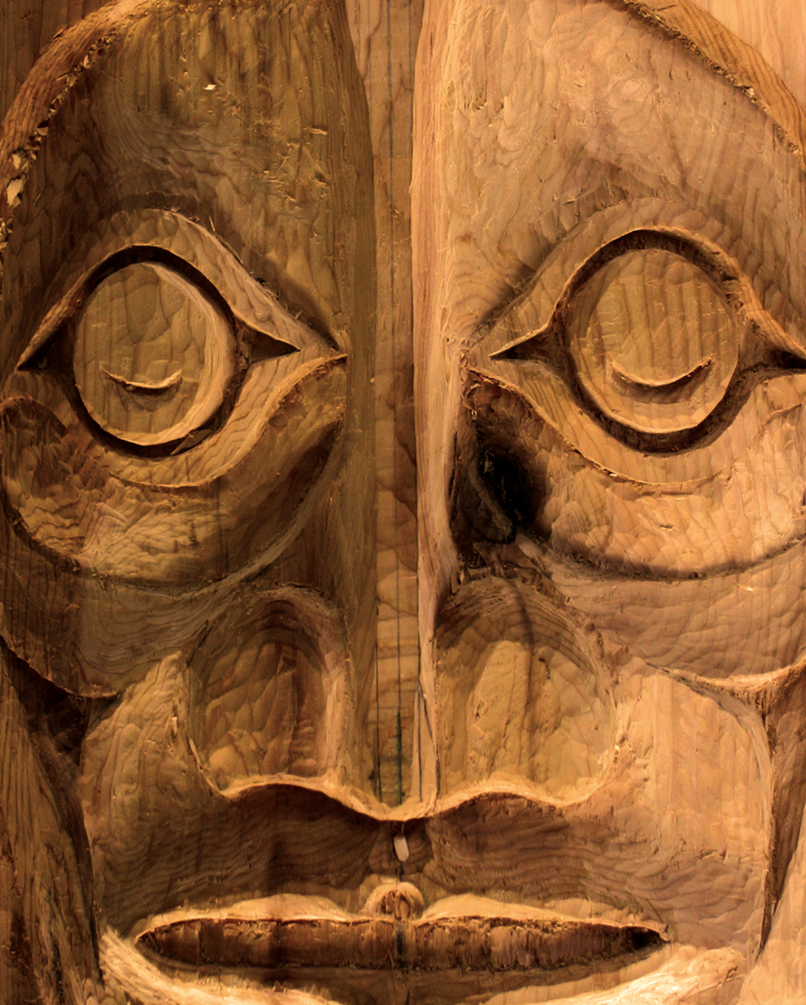 Totem, by Randy Capoeman