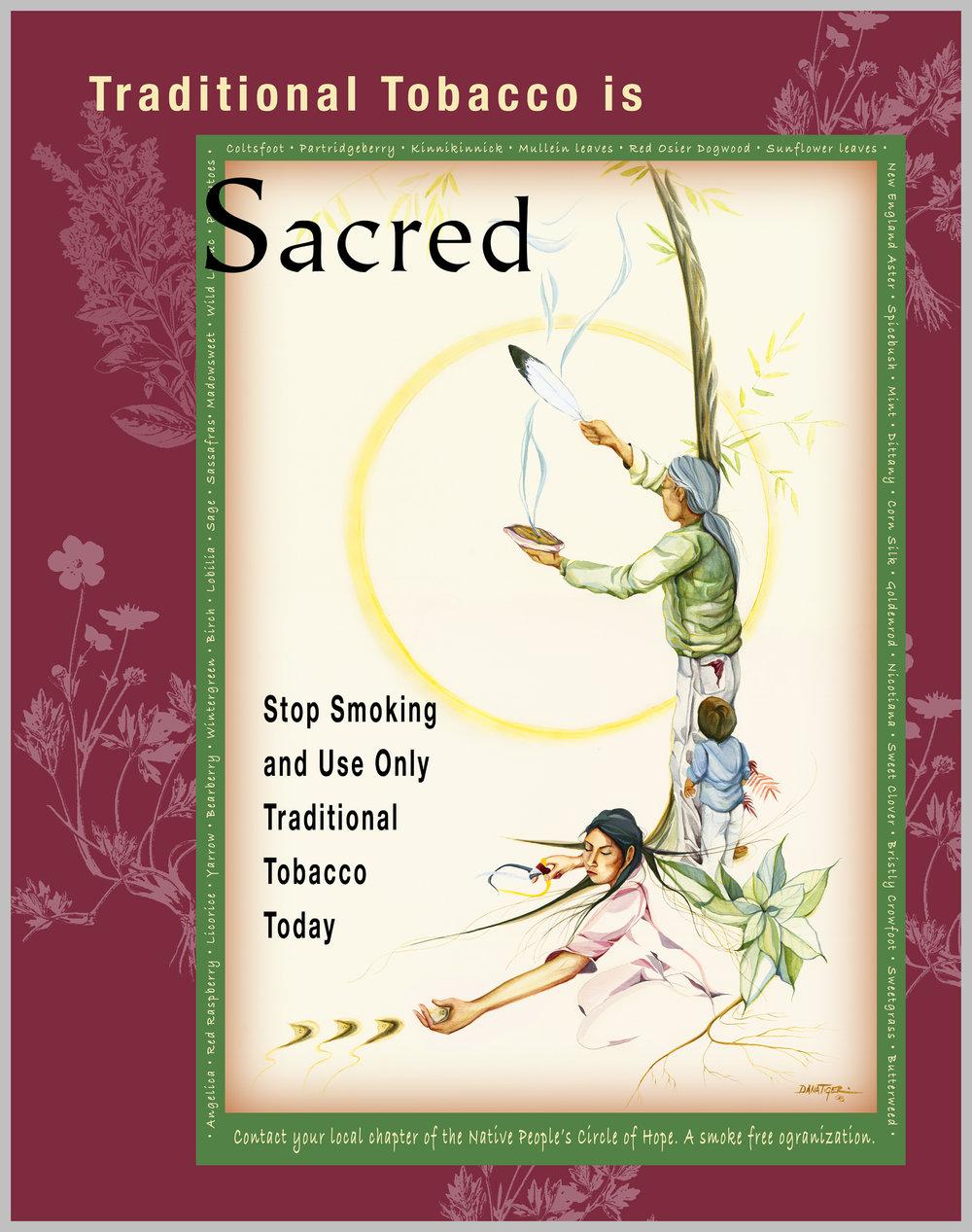 NPCOH Sacred Tobacco Poster