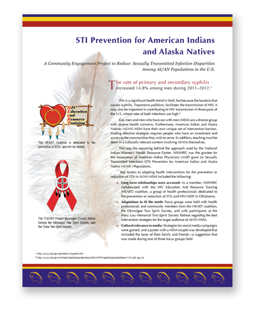 NIWHRC STI PRevention Monograph