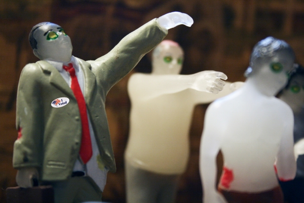 Are zombies infiltrating our electoral system? Is voter fraud destroying our democracy? Source: Flickr