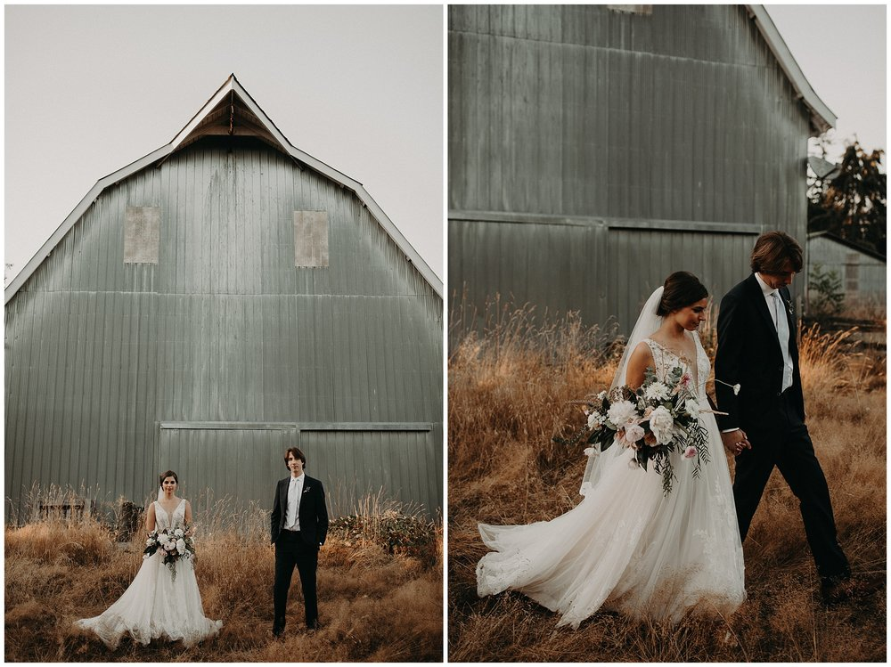 A barn wedding venue in Langley