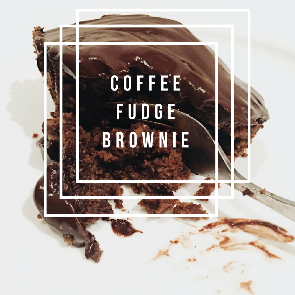 Coffee Fudge Brownie