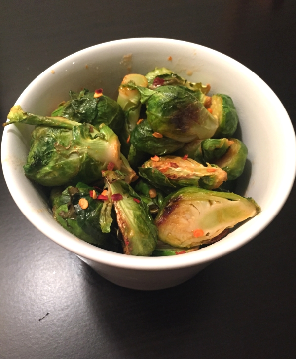 Sriracha Brussels Sprouts