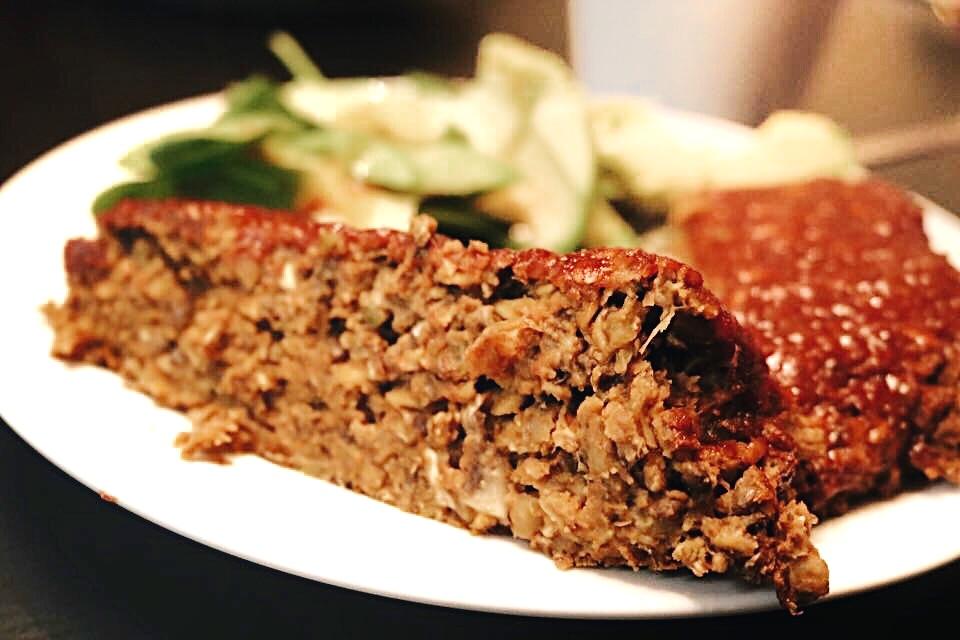 Vegan Lentil Loaf