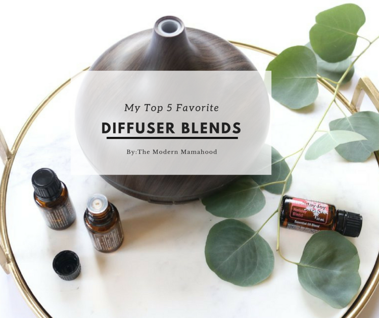 My Top 5 Diffuser Blends