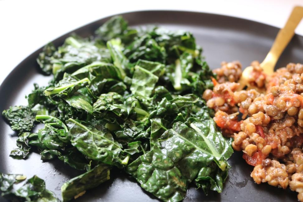 Lentils with Kale