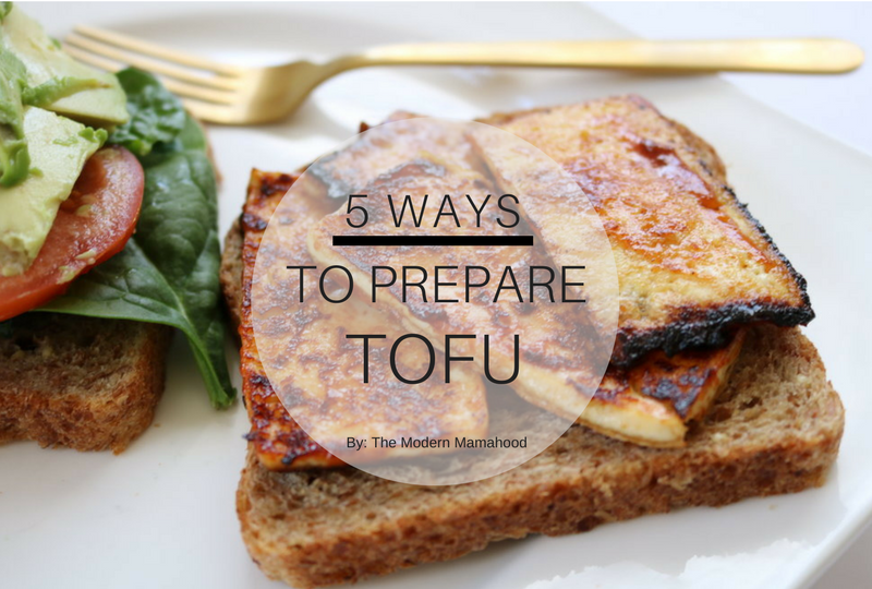5 WAYS to prepare tofu