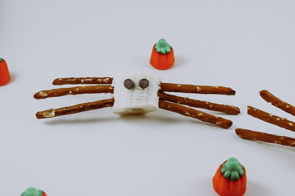 spider halloween snacks