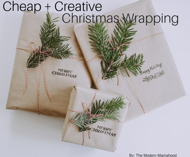 Cheap Christmas Wrapping