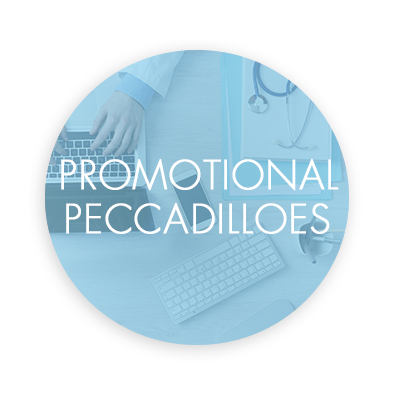 Promotional Peccadilloes