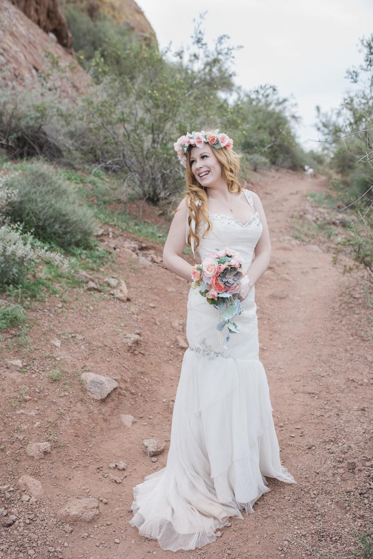 Desert Bridal Shoot — Amanda E Photography