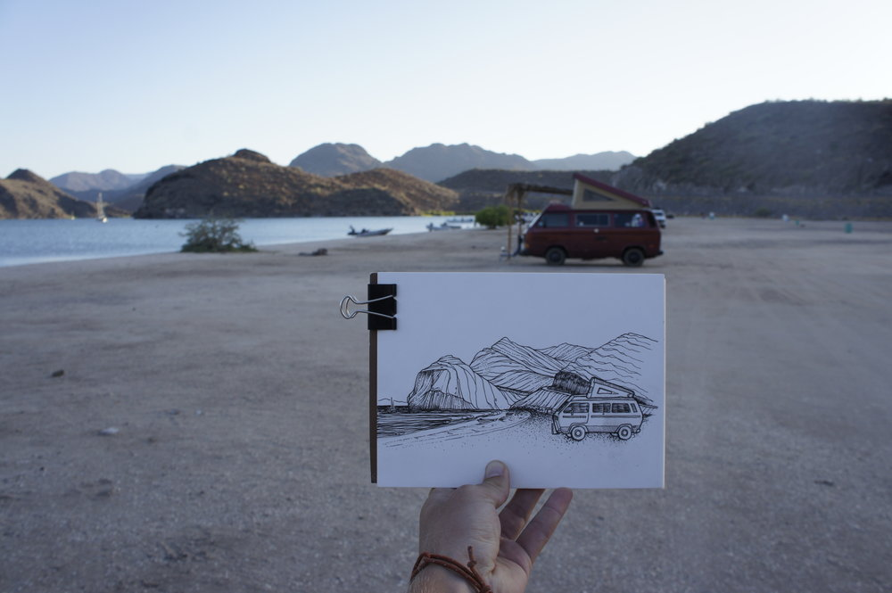 Playa Santispac, Baja California