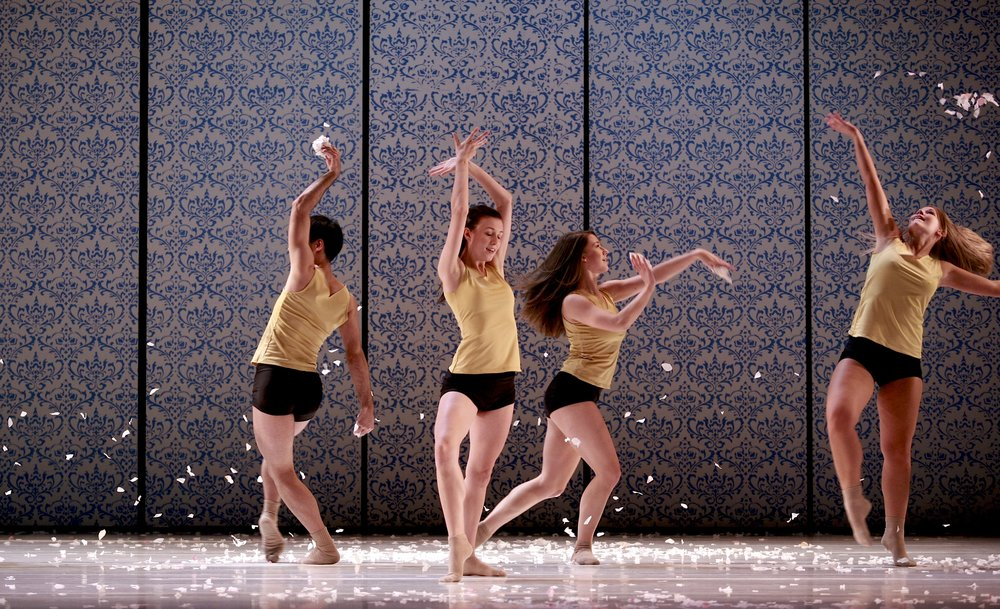 Students of Ryerson University in  Flora and Zephyr  (Ryerson Dances). Photo by Andrew Oxenham