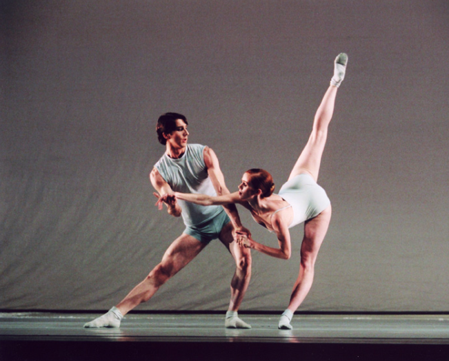 Julie Hay and Nehemiah Kish in  A Delicate Battle  (National Ballet of Canada). Photo by Cylla von Tiedemann, courtesy of the National Ballet of Canada
