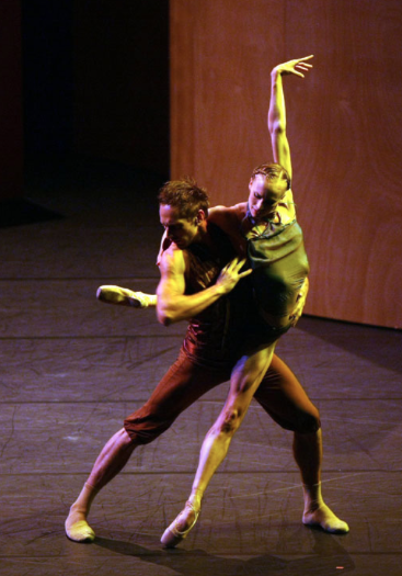 Sarah Jane Medley and Frédéric Carré in Pavillon d'Armide   (Les Ballets de Monte Carlo). Photo by Hans Gerritsen