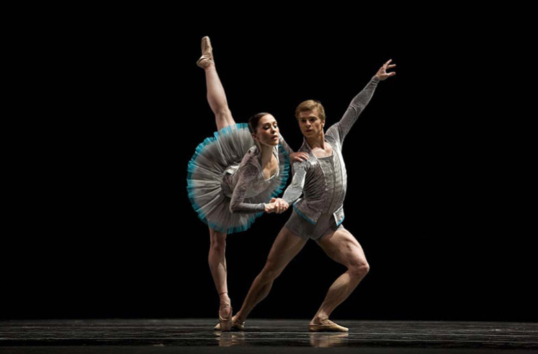 Kristin Long and Gennadi Nedvigin in  Concordia  (San Francisco Ballet). Photo by Chris Hardy, courtesy of San Francisco Ballet