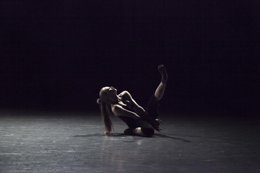 Celine Wetzels   (Codarts Rotterdam) in  I Wonder -   AI17 - Canada's National Ballet School. Photo by  Aleksandar Antonijevic .