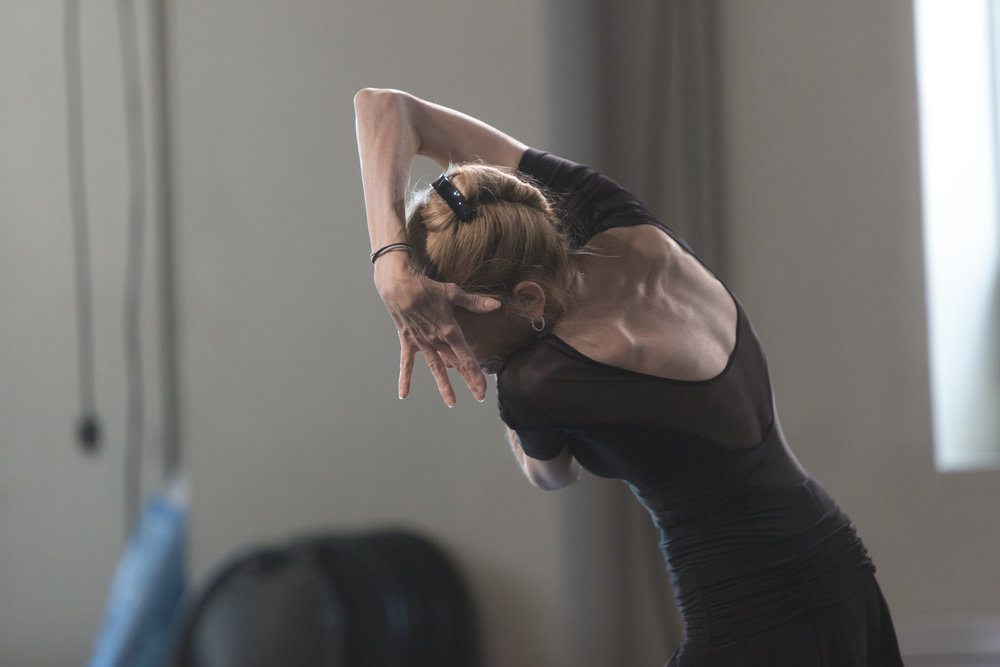 Evelyn Hart in a new solo commissioned for Older & Reckless #40. Photo by  Aleksandar Antonijevic