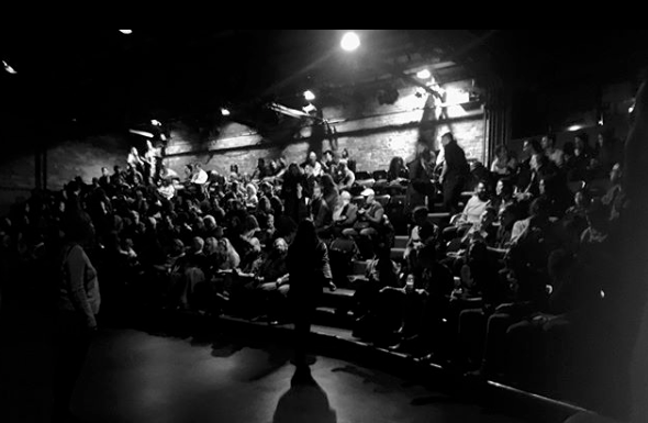 A full house for Secret Shakespeare V at the Berkeley Theatre upstairs! Photo by Ellie Moon