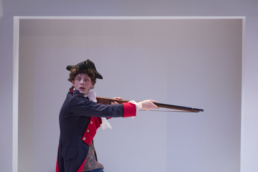 Andrew Cameron in  Candide  by Mark Ravenhill (George Brown Theatre). Photo by  Aleksandar Antonijevic