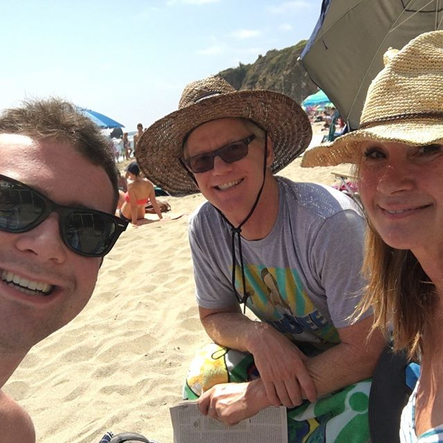 Family day in Laguna! 🌊☀️ #Lovethesetwo