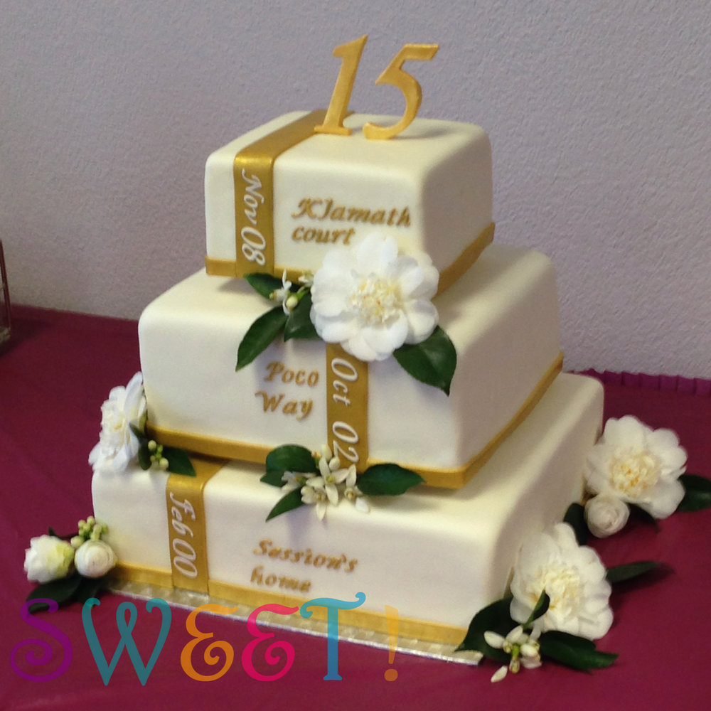 Cake Ideas For Church Anniversary : Anniversary Cakes   Sweet!