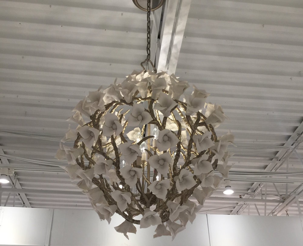 More appliqué-inspired lighting. Can you tell we were hunting for a client's dream light fixture right before this post?