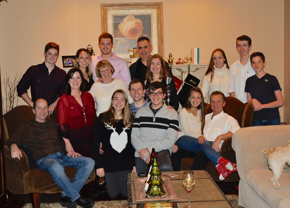 Christine and the Piscani clan
